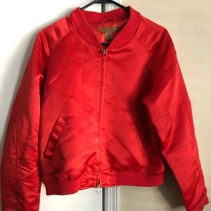 Jackets & Blazers - Red Bomber Jacket